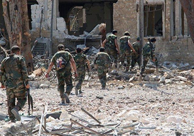 武装分子在东阿勒颇控制不超过18平方公里