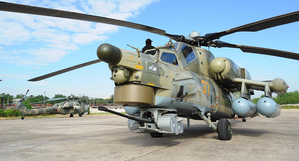 米-28NE直升机