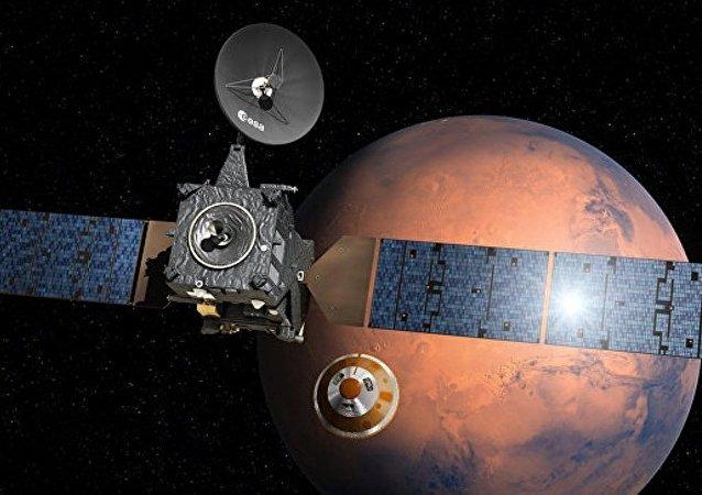 欧洲航天局:斯基亚帕雷利火星登陆器发动机过早熄火