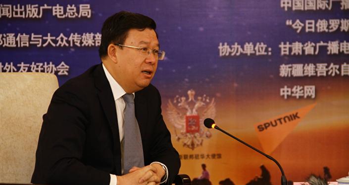 """甘肃副省长: """"兰州号""""国际货运班列有助于丝路沿线区域互联互通"""