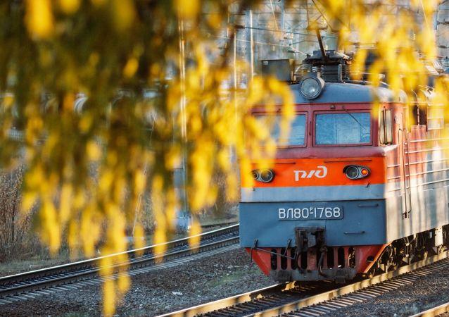 媒体:2016年74%的俄罗斯过境铁路运输货物来自中国