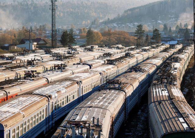今年前两个月中欧间经加里宁格勒铁路共运输集装箱1.26万个
