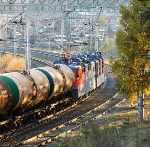 俄遠東運輸公司啓動首列中國經蒙古通往歐洲集裝箱班列