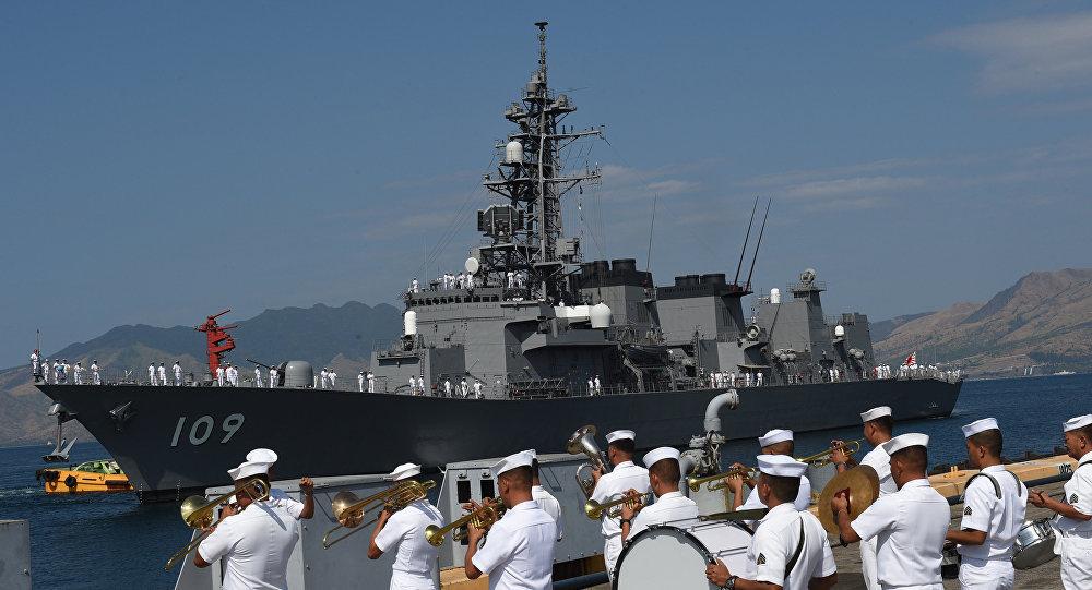 美、日、韩三国计划在济州岛附近海域进行军演