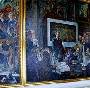 专家:俄罗斯大部分艺术品销往中国市场