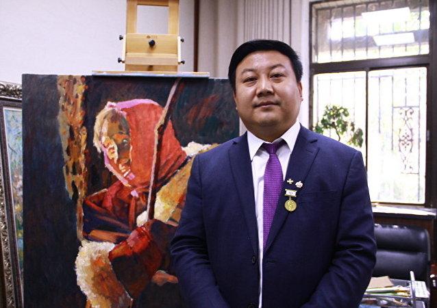 中国艺术家潘义奎