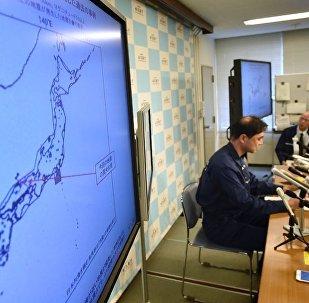 日本鸟取县强烈地震后发生7次余震