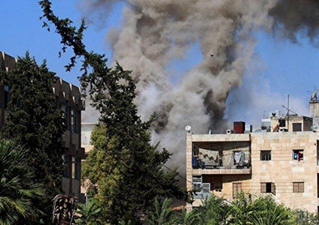 俄常驻联合国代表称国际联军似欲将恐怖分子从摩苏尔逼至叙利亚