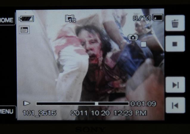 卡扎菲因其对外国驻非洲军事基地政策遭杀害