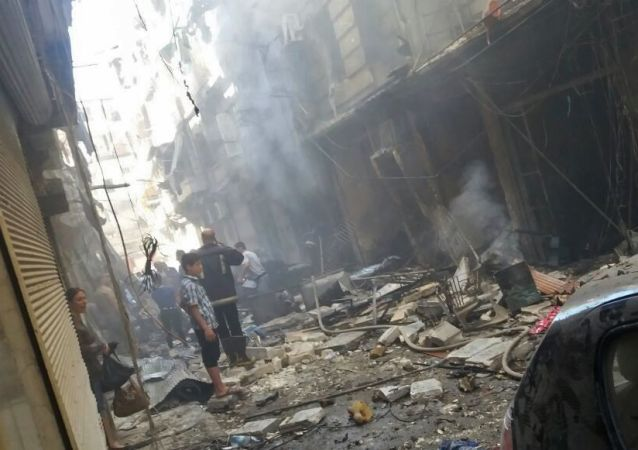 恐怖分子加紧对阿勒颇的攻击,造成15人死亡,150人受伤