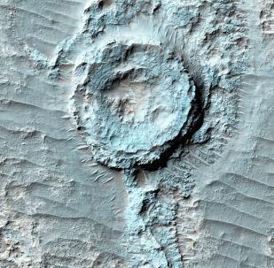 火星上的环形山
