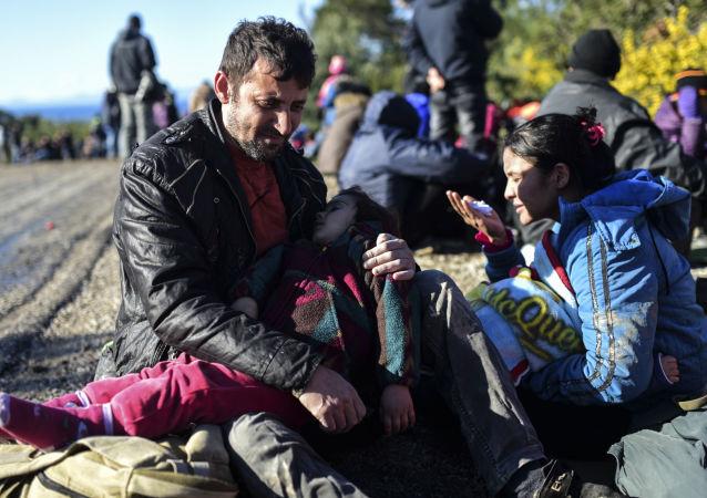 来自叙利亚的难民在土耳其