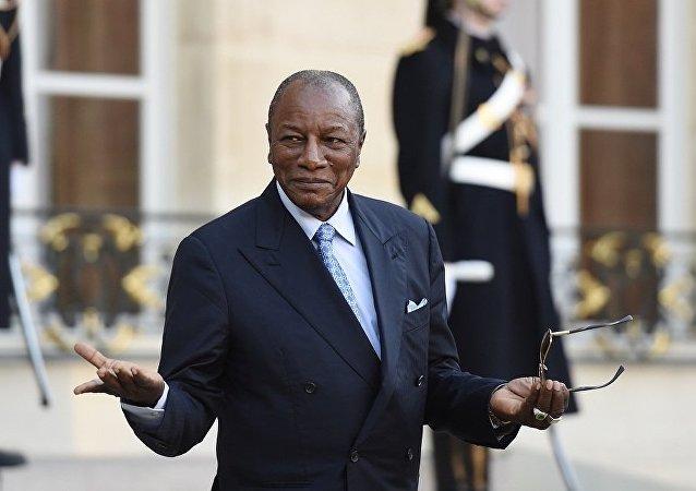 几内亚总统孔戴