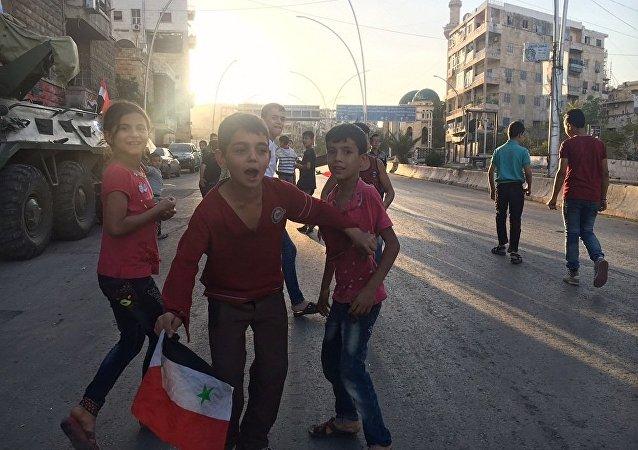 一昼夜内近50名妇孺在俄叙军官护送下离开阿勒颇