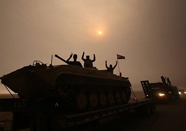 媒体:联合国认为近期摩苏尔居民将大批离城