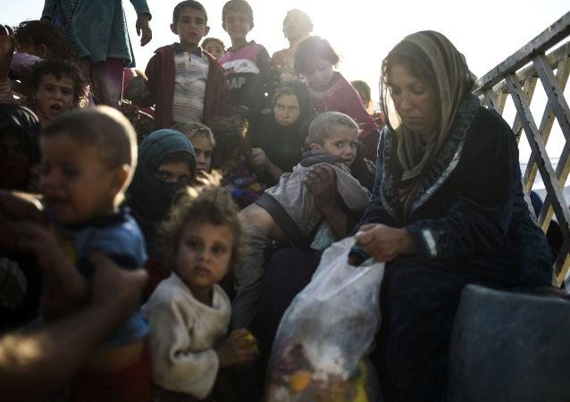 伊拉克儿童(资料图片)