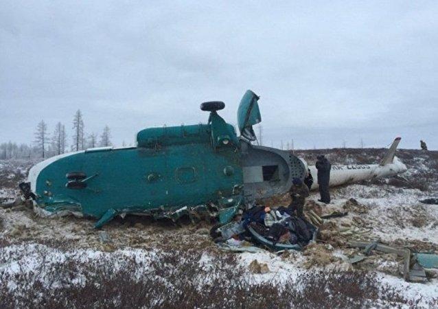 IAC:在俄亚马尔坠毁的米-8因天气状况未能补充油量