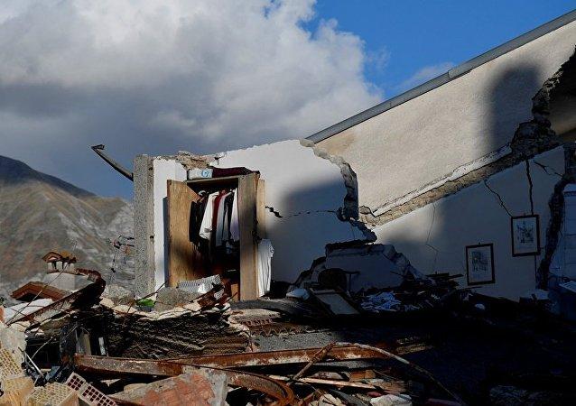 据媒体报道,意大利中部发生6.3级新地震