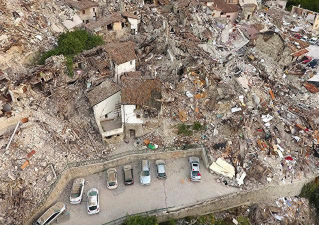 意大利地震导致该国中部一系列居民点受灾