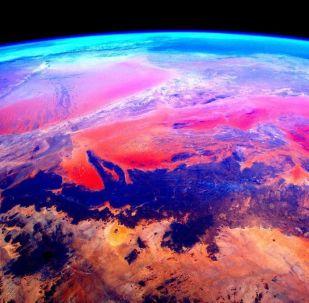 宇航员斯科特·凯利从国际空间站拍摄的地球照片