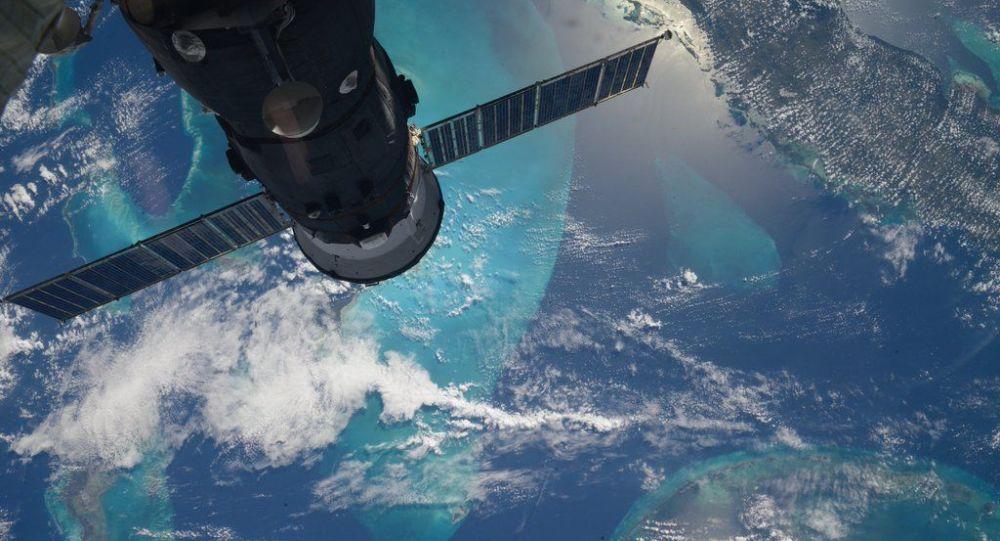 从国际空间站俄罗斯宇航员谢尔盖·沃尔科夫拍摄的地球照片
