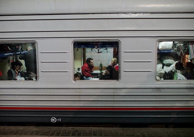 上合组织反恐机构:中亚前往俄列车上的恐怖分子招募渠道被切断