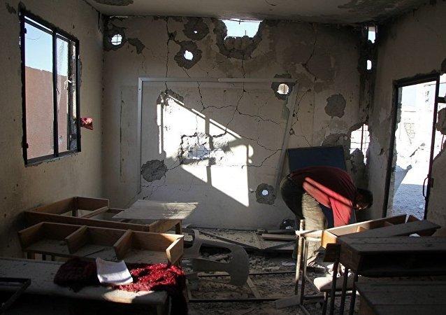 俄外交部:俄与叙利亚伊德利卜一所学校遭袭毫无关系