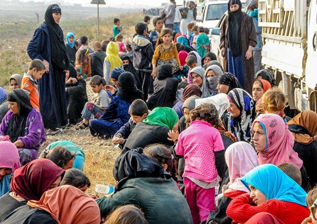 联合国:摩苏尔西部每日约4千人出逃