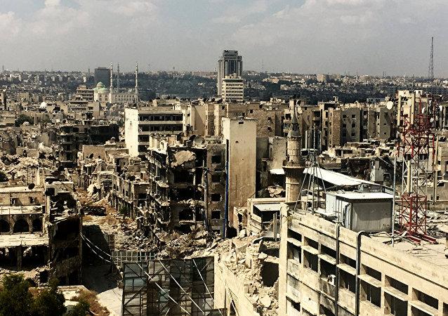 叙民兵组织:俄叙特别行动救出新的一组阿勒颇东部居民