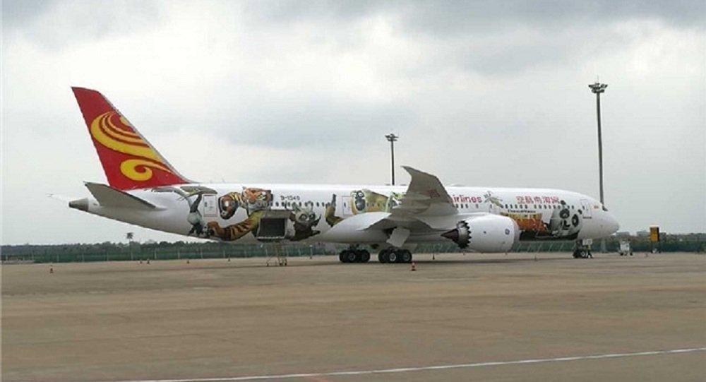 榜单中新西兰航空公司(airnewzealand)位居第二海南航空(hainan