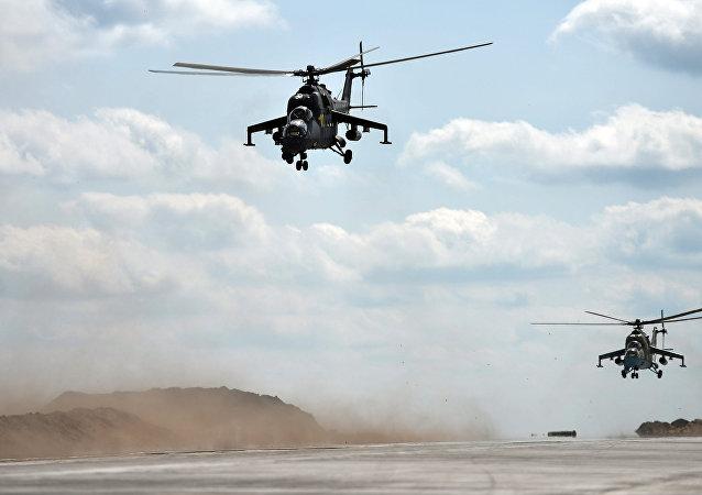 俄新型武装直升机时速超400公里