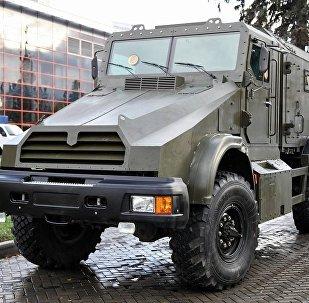 "自动机动迫击炮系统МЗ-204""Gorets"""