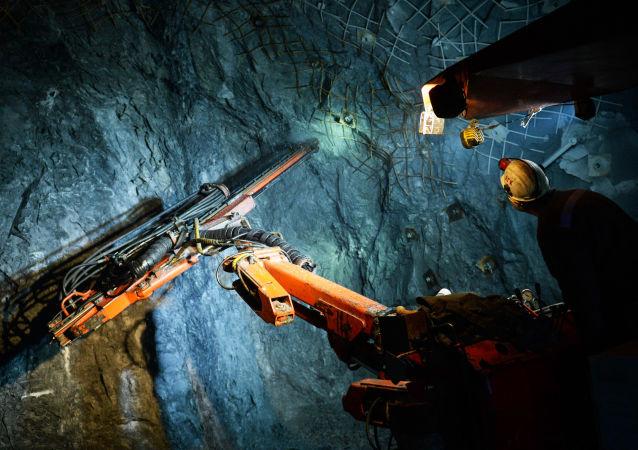 Добыча медной руды на месторождении АО Сафьяновская медь в Свердловской области
