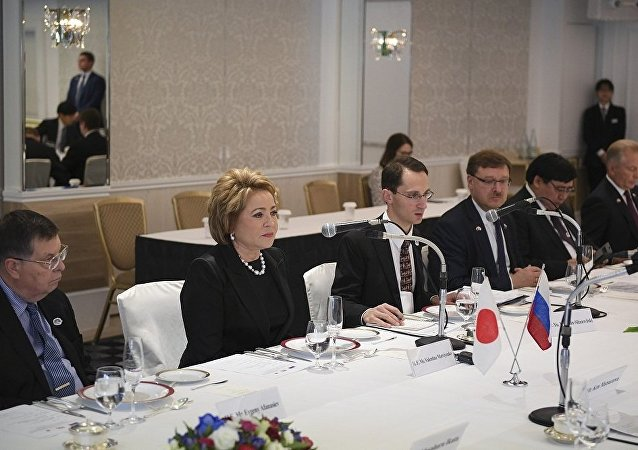 俄联邦委员会主席:俄日正起草两国均能接受的和平条约内容