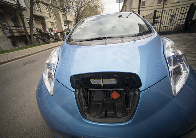 俄罗斯加油站将增设电动汽车充电桩