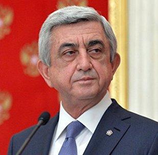 亚美尼亚总统萨尔基相