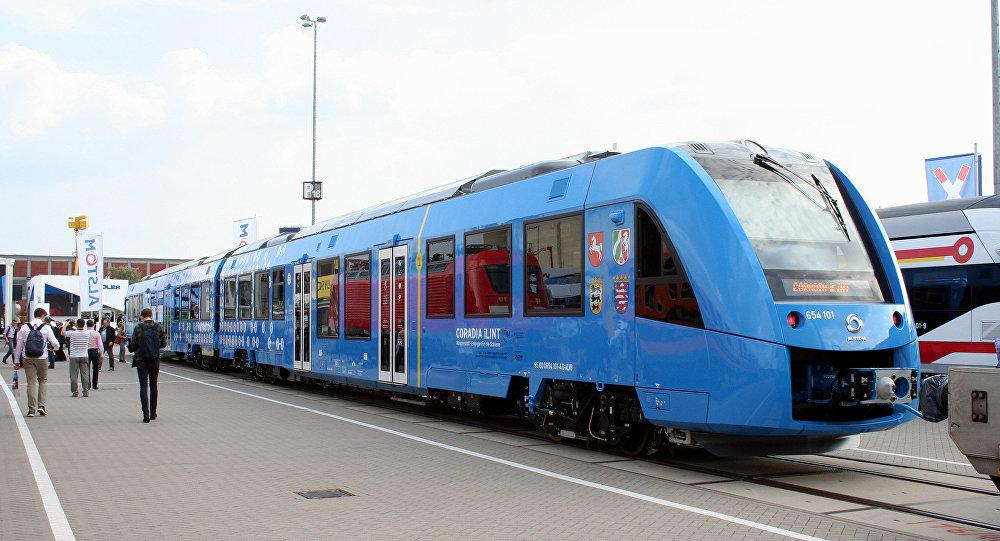 德国第一列氢动力火车将在2017年12月正式运营
