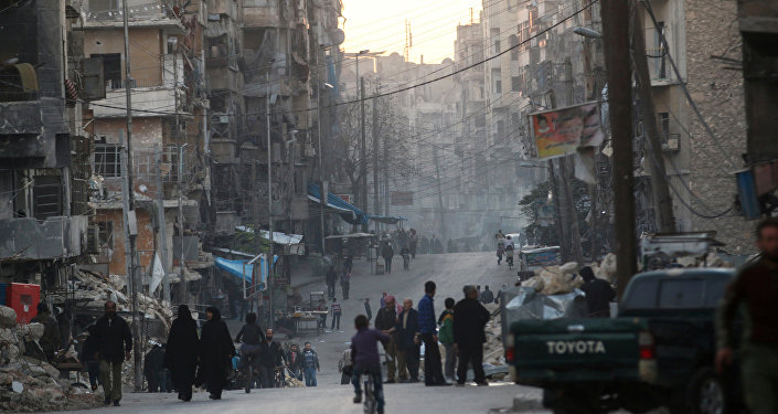 俄外长:俄方认为沿卡斯特洛路向阿勒颇运送人道援助不存在障碍