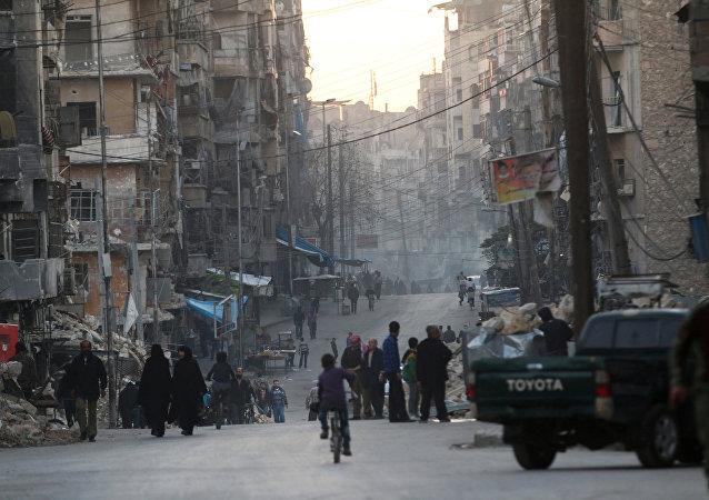 叙外长:大马士革坚决驳斥阿勒颇东部地区自治的提议