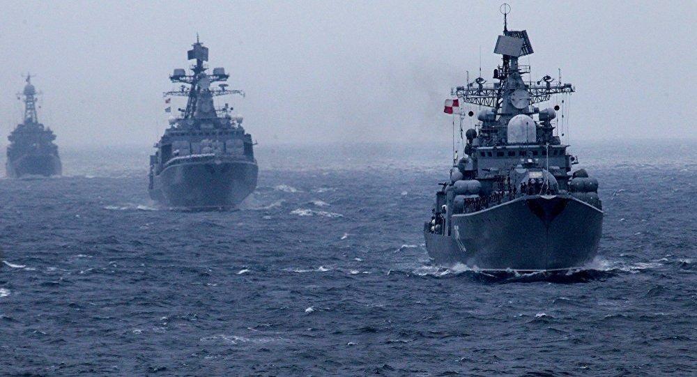 海军风手绘通知