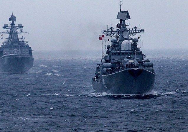 俄太平洋舰队在夏季训练期将与中印日举行联合海上演习