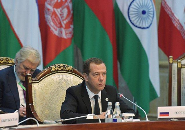 俄总理出席上合组织成员国政府首脑会议