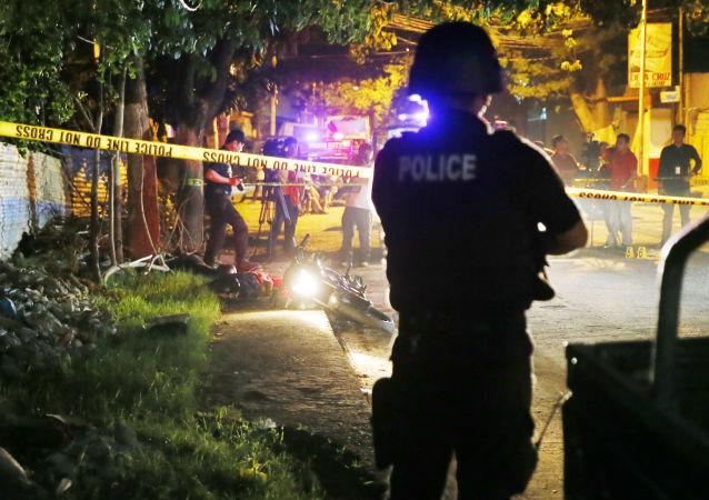 媒体:菲律宾缉毒行动中有20余人被杀