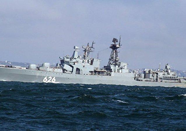 俄国防部:俄方军舰施救地中海遇险乌克兰渔船船员