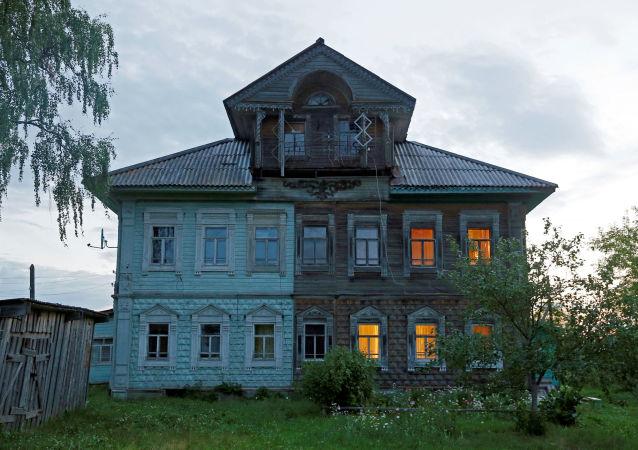 阿尔汉格尔斯克州木屋