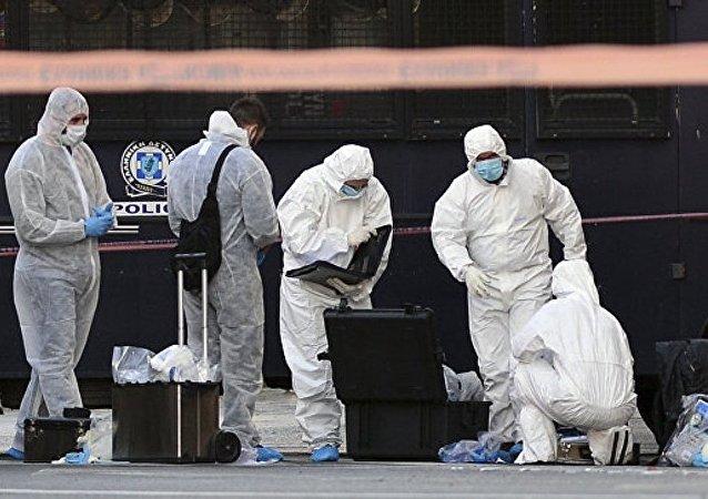 媒体:不明身份者向法国驻雅典大使馆投掷一枚手榴弹 一名警察受伤
