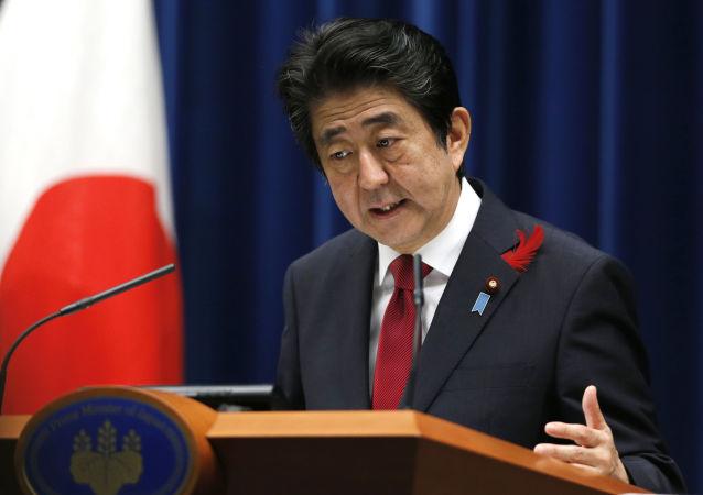 安倍晋三:日本赞成尽快使跨太平洋战略经济伙伴关系协议生效