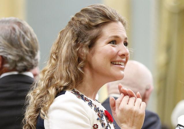 加拿大总理特鲁多的夫人索菲