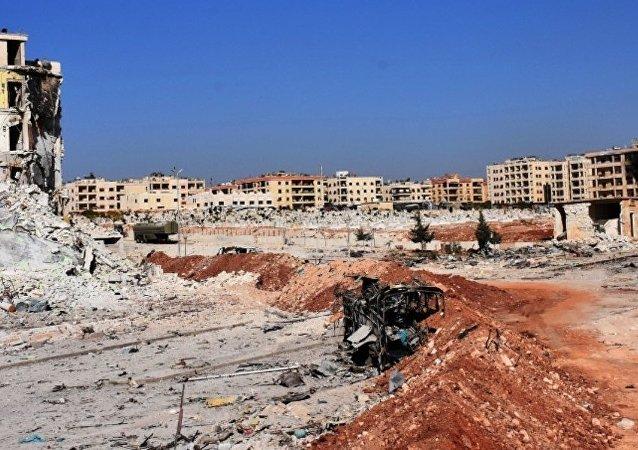 俄将向禁止化学武器组织转交武装分子在阿勒颇使用化武证据