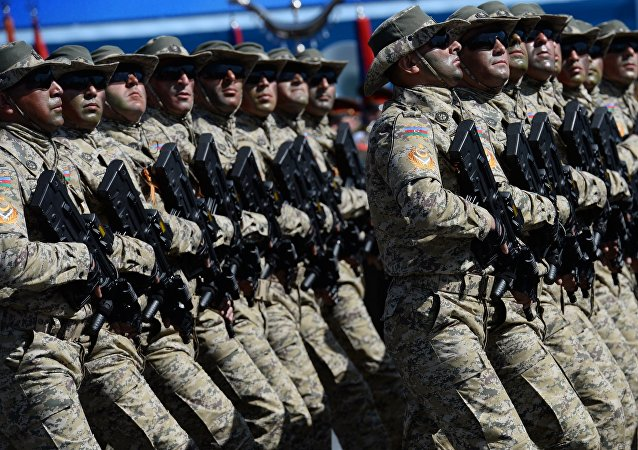 阿塞拜疆军队/资料图片/